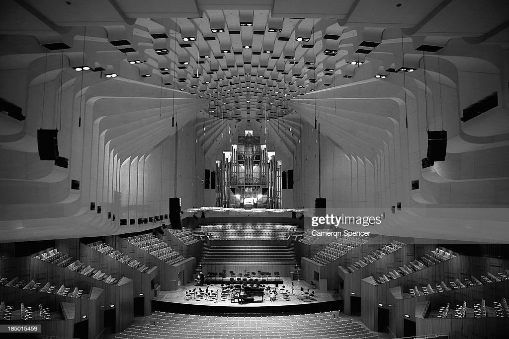 A general view of the Concert Hall inside the Sydney Opera House on September 20 2013 in Sydney Australia On October 20 2013 the iconic Sydney Opera...