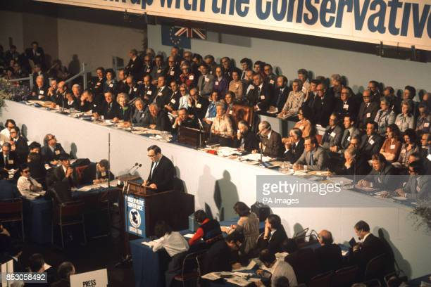 A general view of the Conservative Party conference at Brighton