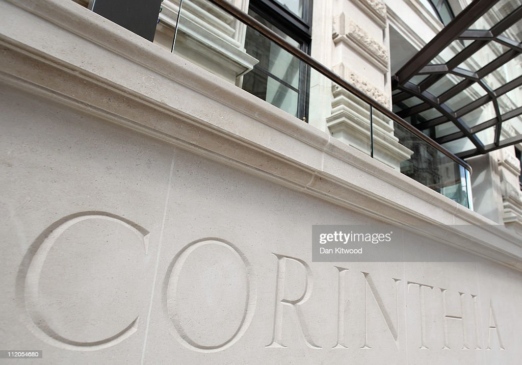 A general view of the Corinthia hotel in Whitehall on April 12, 2011 in London, England.