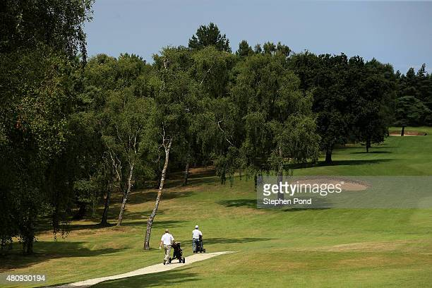 A general view of the course during the Lombard Trophy East Qualifier at King's Lynn Golf Club on July 16 2015 in King's Lynn England