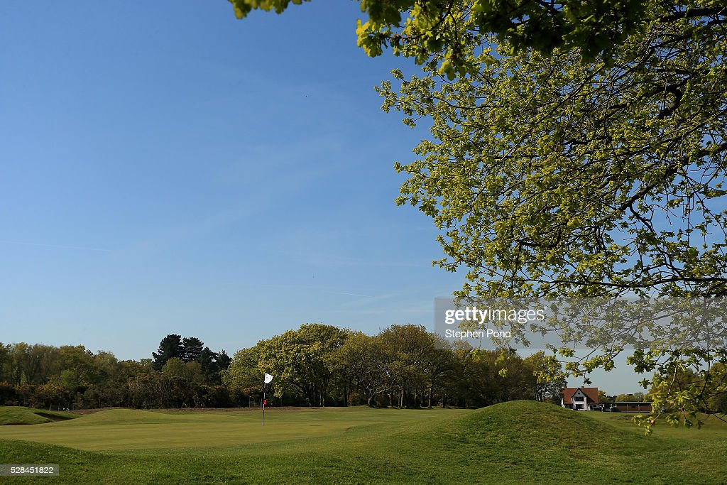 A general view of the course during the PGA Assistants Championship East Qualifier at Ipswich Golf Club on May 5, 2016 in Ipswich, England.