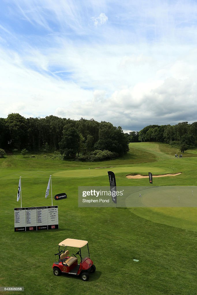 A general view of the course during the PGA Fourball Qualifier at Ashridge Golf Club on June 27, 2016 in Ashridge, England.