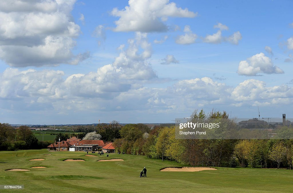 A general view of the course during the PGA Professional Championship East Qualifier at Gog Magog Golf Club on May 3, 2016 in Cambridge, England.