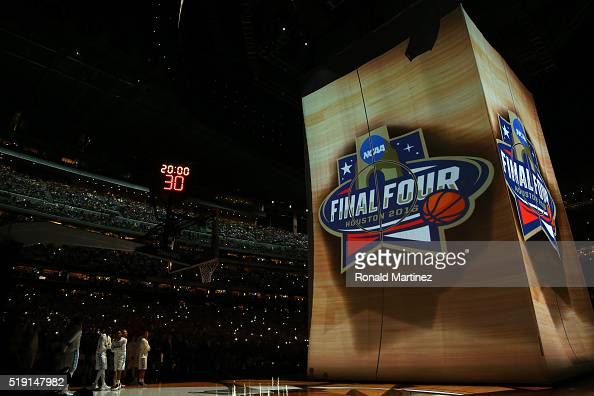 A general view of the court prior to the 2016 NCAA Men's Final Four National Championship game between the Villanova Wildcats and the North Carolina...