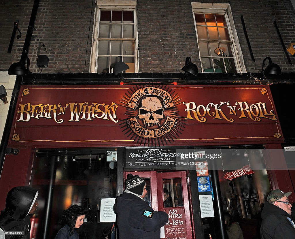General view of the Crowbar Soho on February 13, 2013 in London, England.