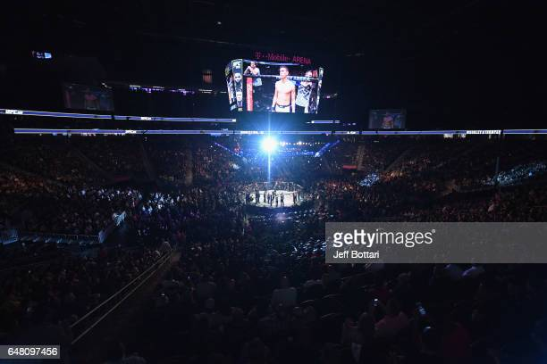 A general view of the crowd during the UFC 209 event at TMobile Arena on March 4 2017 in Las Vegas Nevada