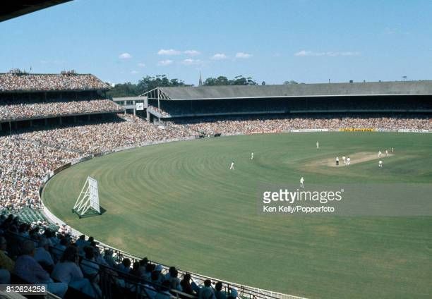 A general view of the crowd watching the 3rd Test match between Australia and West Indies at the MCG Melbourne 26th December 1975 The attendance on...