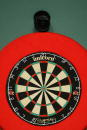 A general view of the dartboard during the second round match between Phil Taylor of England and Jamie Harvey of Scotland of the PDC World Matchplay...