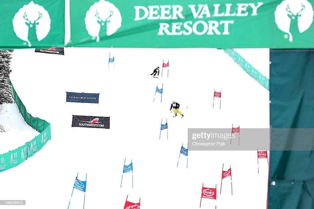 General view of the Deer Valley Celebrity Skifest at Deer Valley Resort on December 9, 2012 in Park City, Utah.