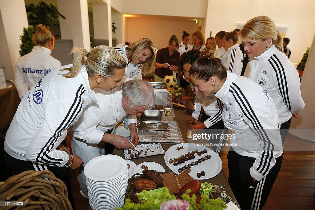 General view of the DFB Team & Sponsors Cooking Event on June 24, 2013 in Munich, Germany.