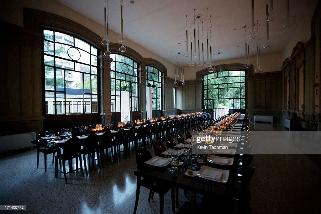 A general view of the dinner to celebrate Italo Zucchelli's ten years as Calvin Klein Collection's mens creative director on June 23, 2013 in Milan, Italy.