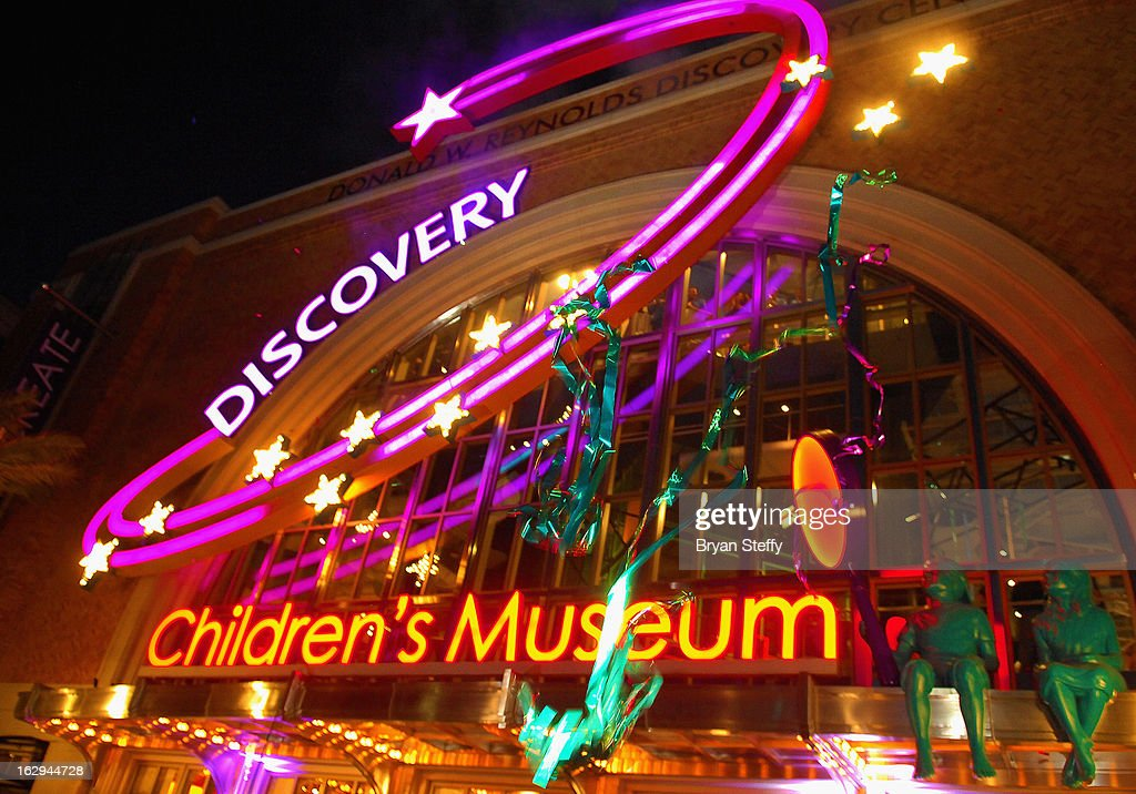 A general view of the Discovery Children's Museum opening at The Smith Center for the Performing Arts Campus on March 1, 2013 in Las Vegas, Nevada.
