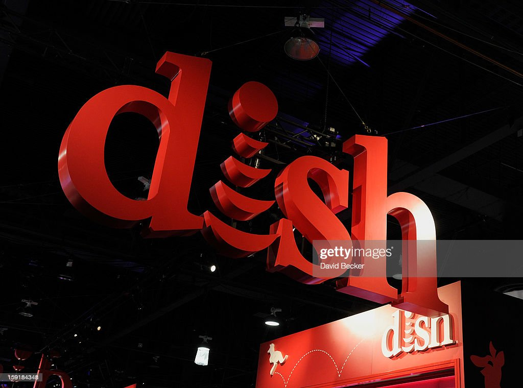 A general view of the Dish Network booth is seen at the 2013 International CES at the Las Vegas Convention Center on January 9, 2013 in Las Vegas, Nevada. CES, the world's largest annual consumer technology trade show, runs through January 11 and is expected to feature 3,100 exhibitors showing off their latest products and services to about 150,000 attendees.