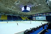 General view of the Dom Sportova during the ISU Junior Grand Prix at Dom Sportova on October 8 2015 in Zagreb Croatia