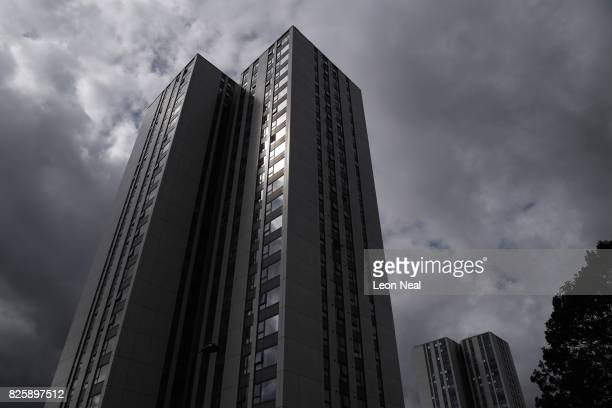 A general view of the Dorney and Bray Towers in the Chalcot estate on August 3 2017 in London England Despite ongoing concerns over the potential...