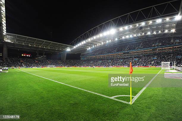 General view of the Dragao Stadium home of FC Porto taken prior to the Portuguese Primeira Liga match between FC Porto and Gil Vicente FC held on...