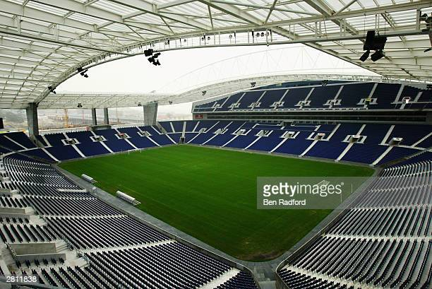 A general view of the Dragao Stadium Porto Portugal One of the venues for the European Championships in 2004