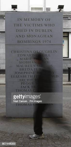 A general view of the Dublin/Monanhan bombings memorial in Talbot Street in Dublin A group supporting victims of the Troubles in the Republic needs...