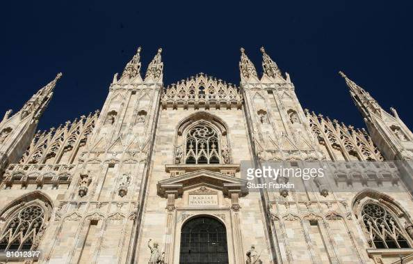 A general view of the Duomo Cathedral on May 6 2008 in Milan Italy