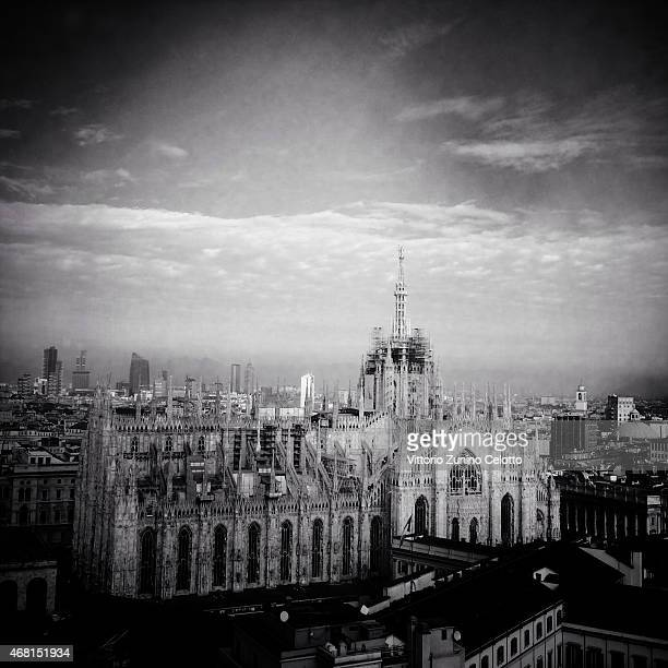 A general view of the Duomo on November 20 2014 in Milan Italy Milan was named as the 2015 Universal Exposition hosting city It will run from May 1...