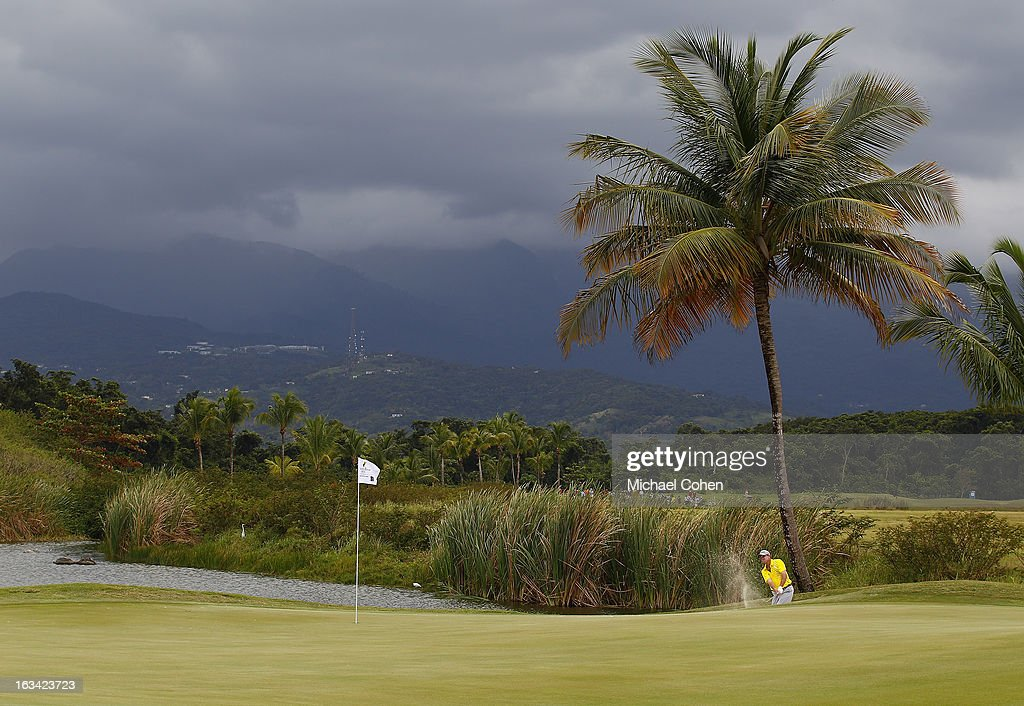 A general view of the eighth green during the third round of the Puerto Rico Open presented by seepuertorico.com held at Trump International Golf Club on March 9, 2013 in Rio Grande, Puerto Rico.