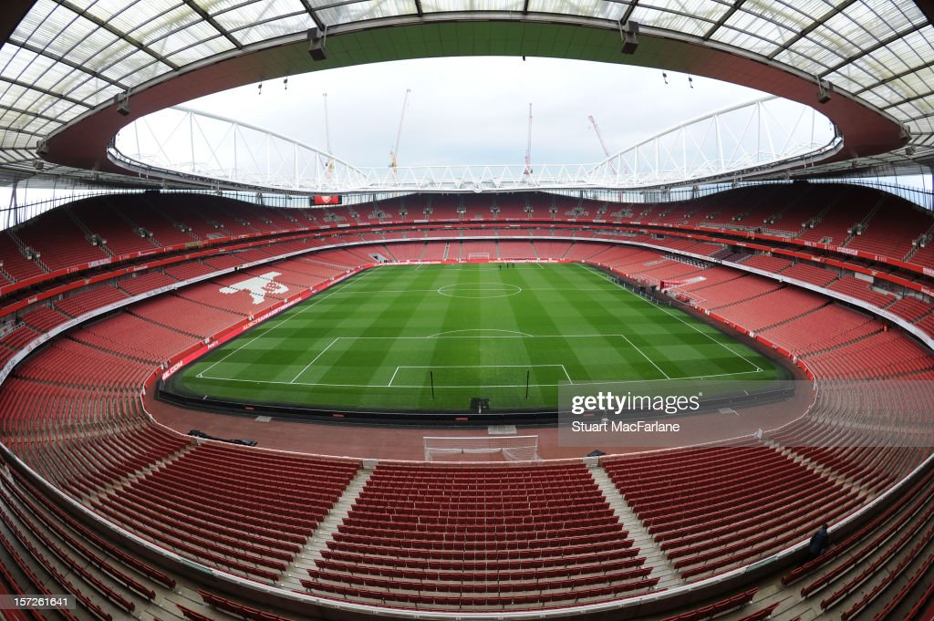 General view of the Emirates Stadium before the Barclays Premier League match between Arsenal and Swansea City on December 01, 2012 in London, England.