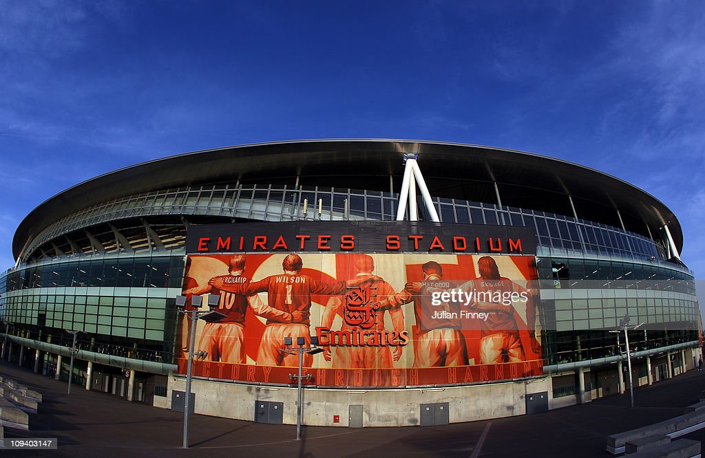 A general view of the Emirates Stadium, home of Arsenal Football Club on February 24, 2011 in London, England.