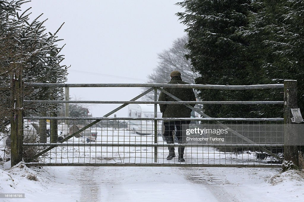 A general view of the entrance to the Peter Boddy slaughterhouse which was raided as part of the police inquiry into the sale of horsemeat being sold as beef on February 13, 2013 in Todmorden, England. Officials searching for the source of horsemeat being passed off as beef have raided two meat plants in the United Kingdom. Police and officials from The British Food Standards Agency entered the Peter Boddy slaughterhouse in Todmorden which is suspected to have supplied horse carcasses to Farmbox Meats in Aberystwyth, Wales.