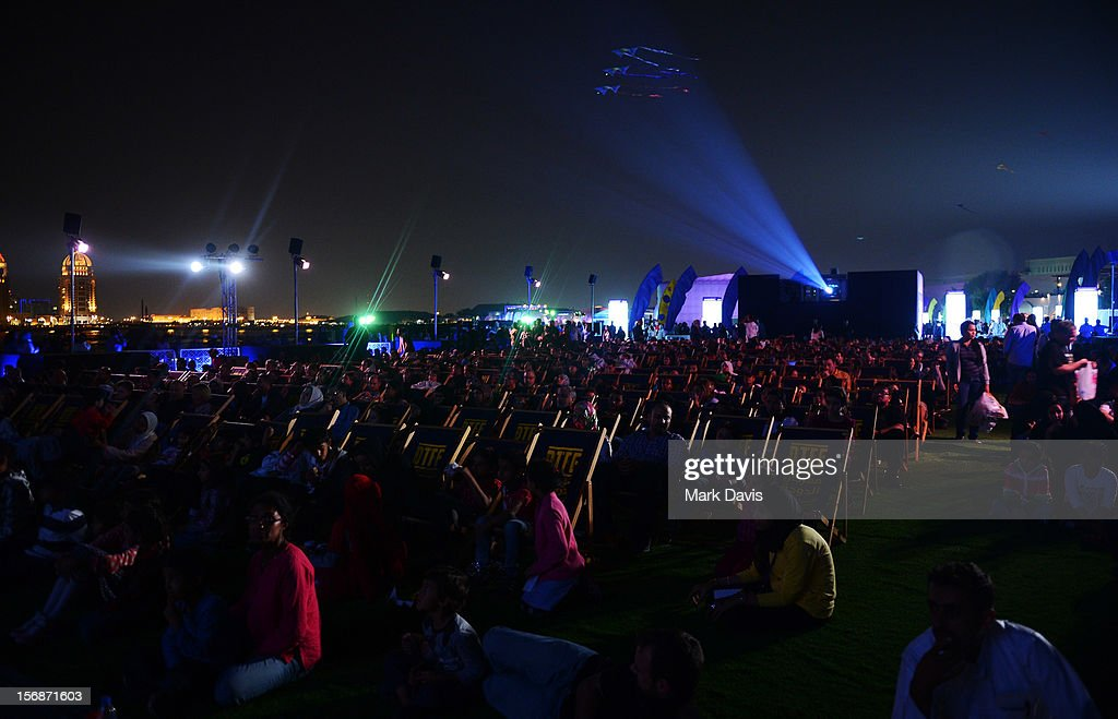 A general view of the 'ET' Screening during the 2012 Doha Tribeca Film Festival at Sony Open Air Theater Katara on November 23, 2012 in Doha, Qatar.