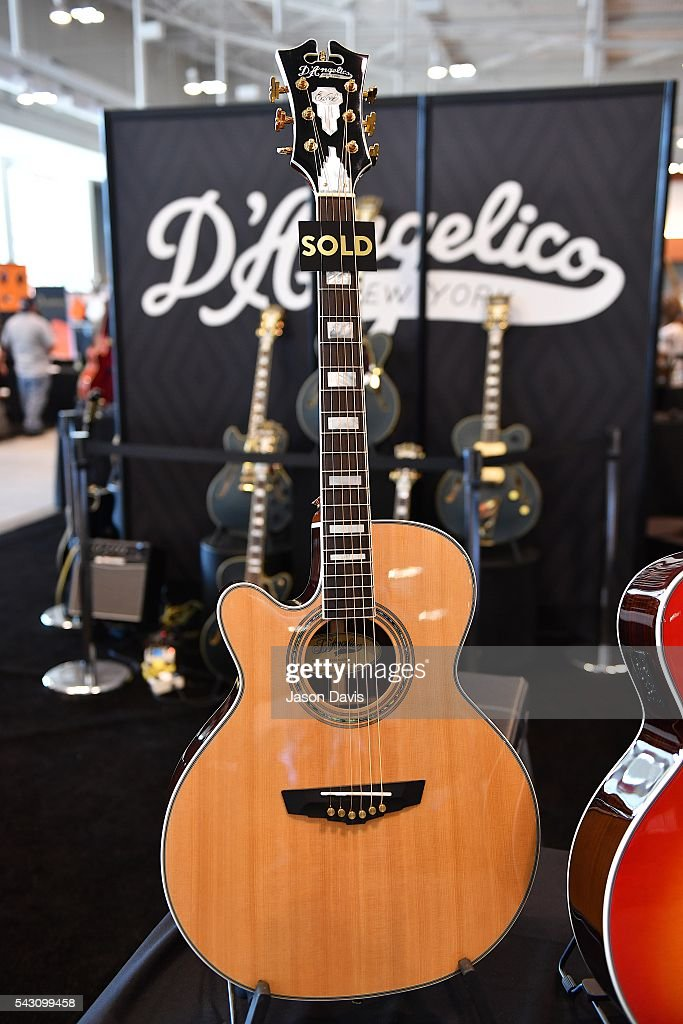 A general view of the exhibition floor during Music Industry Day during Summer NAMM at Music City Center on June 25, 2016 in Nashville, Tennessee.