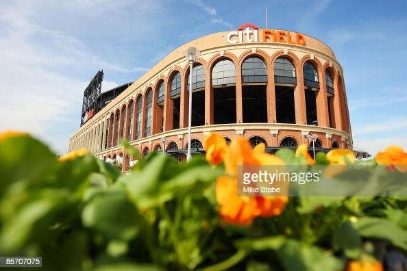 A general view of the exterior of Citi Field on March 25 2009 in the Flushing neighborhood of the Queens borough of New York City
