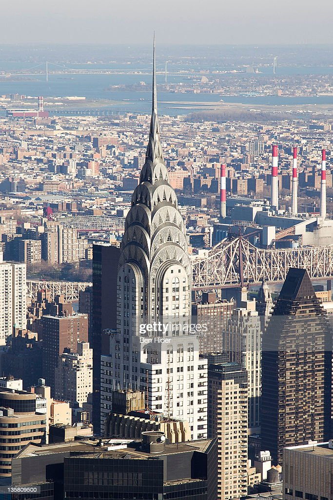 A general view of the exterior of The Chrysler Building on December 13, 2011 in New York City.