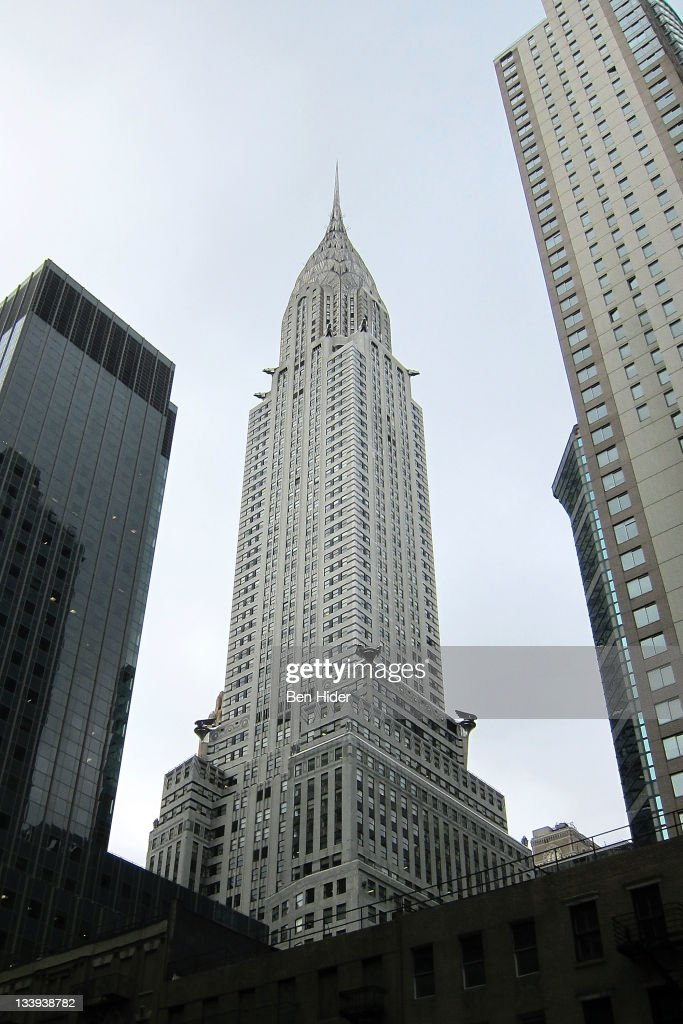 A general view of the exterior of The Chrysler Building on November 21, 2011 in New York City. The Chrysler Building was designed by architect William Van Alen for a project of Walter P. Chrysler.