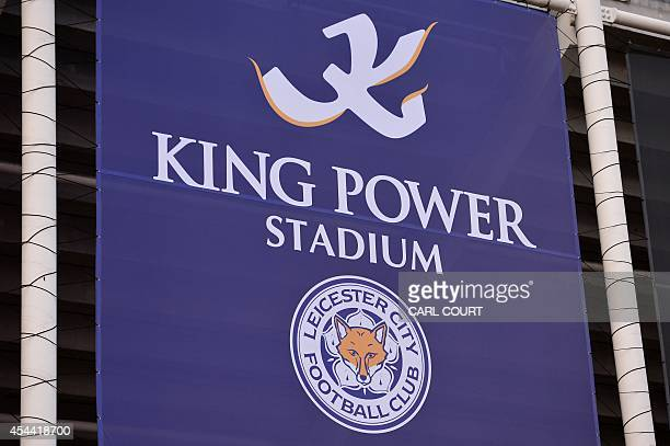 General view of the exterior of the King Power Stadium home to Leicester City Football Club in Leicester central England on August 31 2014 USE No use...