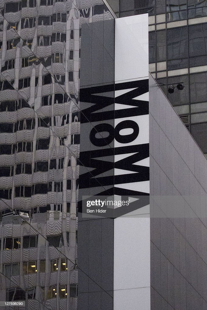 A general view of the exterior of the Museum of Modern Art aka MOMA on September 28 2011 in New York City