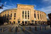 General view of the exterior of Yankee Stadium prior to Game Six of the 2009 American League Championship Series between the New York Yankees and the...