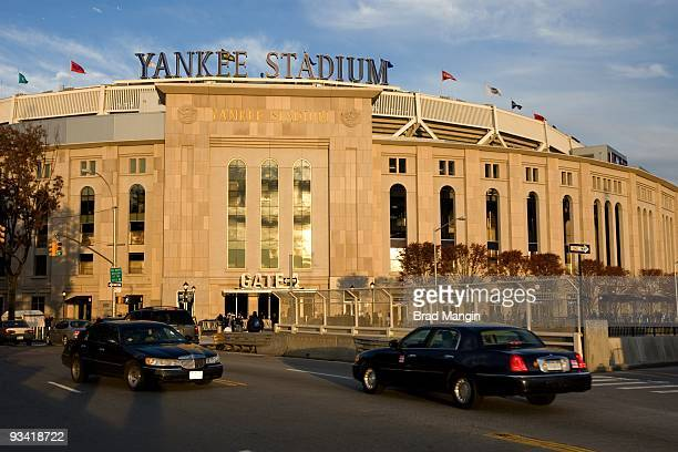 A general view of the exterior of Yankee Stadium prior to Game Six of the 2009 American League Championship Series between the New York Yankees and...