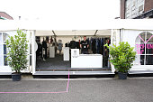 A general view of the fashionyard tent during Platform Fashion July 2016 at Areal Boehler on July 22 2016 in Duesseldorf Germany