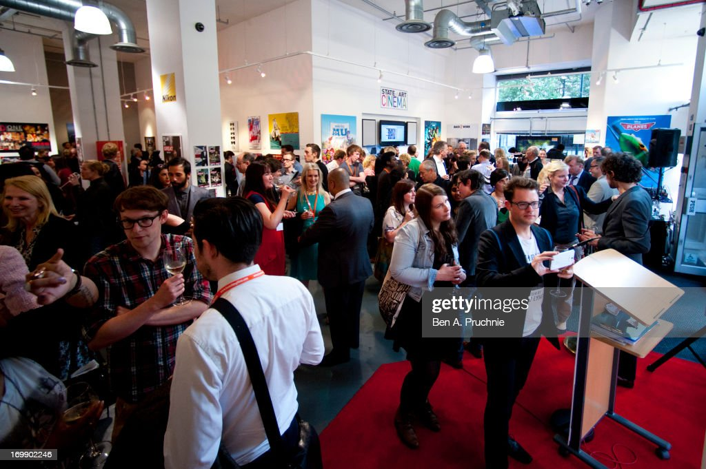 A general view of the FDA State Of The Art private view at Getty Images Gallery on June 3, 2013 in London, England.