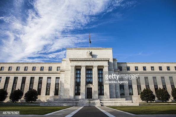 A general view of the Federal Reserve Building in Washington United States on October 27 2014
