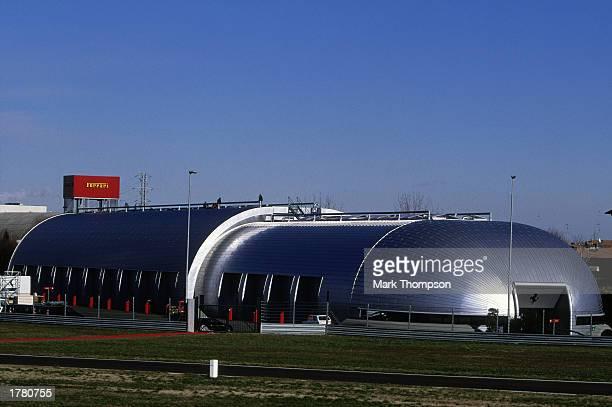General view of the Ferrari Fiorana Formula One testing facility on February 7 2003 in Maranello Italy