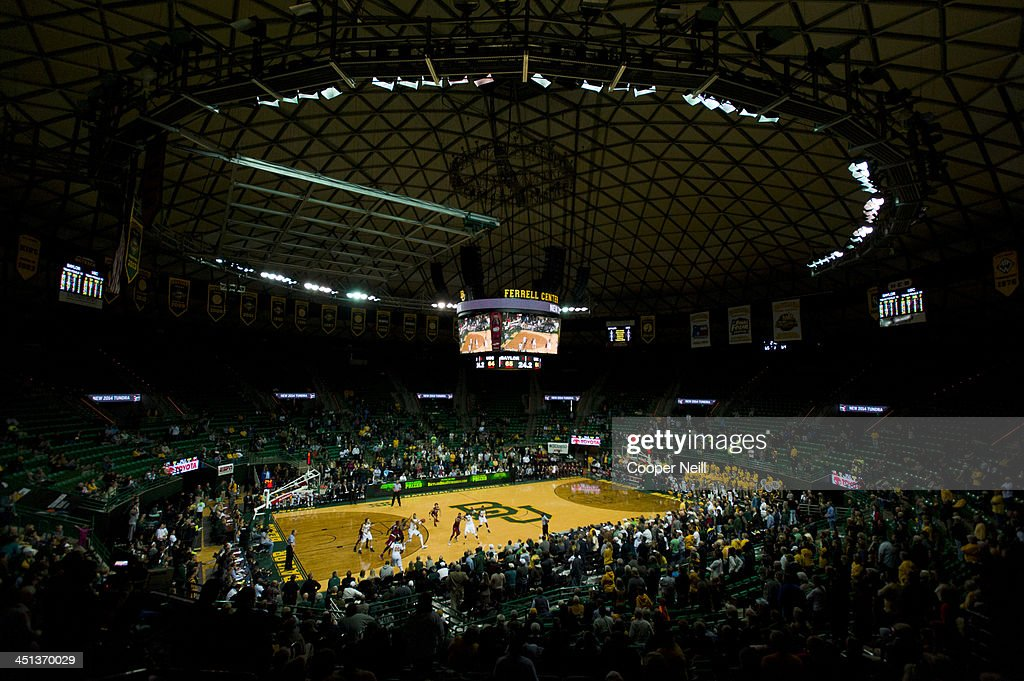 A general view of the Ferrell Center during a mens basketball game between the Baylor Bears and the South Carolina Gamecocks on November 12 2013 in...