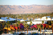 General view of the fesitval grounds during day 2 of the 2016 Coachella Valley Music Arts Festival Weekend 1 at the Empire Polo Club on April 16 2016...