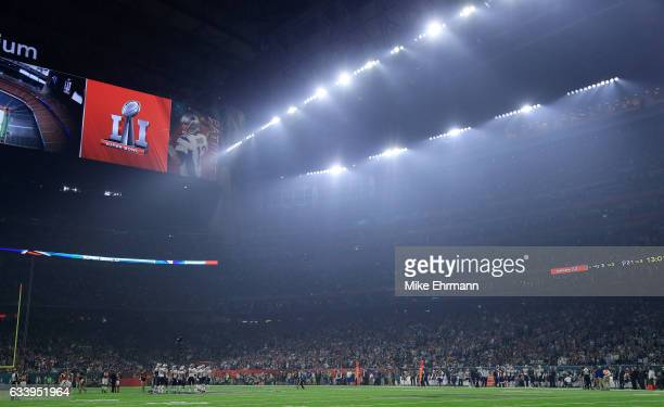 A general view of the field during Super Bowl 51 at NRG Stadium on February 5 2017 in Houston Texas