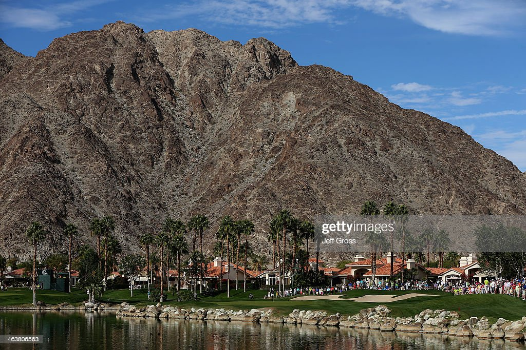 A general view of the fifth green during the final round of the Humana Challenge in partnership with the Clinton Foundation on the Arnold Palmer...