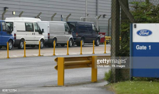 General view of the Ford Transit factory in Swaythling Southampton where Christopher Shute died after falling into a vat of hot paint Peter Preston...