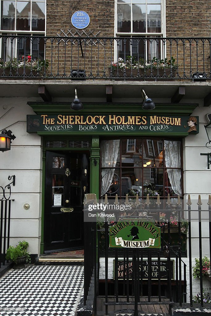 A general view of the former home of the fictional Character Sherlock Holmes on April 5, 2012 in London, England. 221B Baker Street is the London address of the fictional detective Sherlock Holmes, which was created by author Sir Arthur Conan Doyle.
