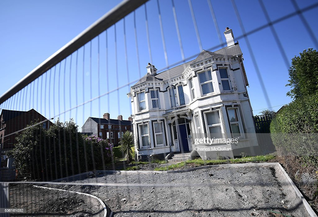 A general view of the former Kincora Boys' Home on May 31, 2016 in Belfast, Northern Ireland. An inquiry into historical child sex abuse in Northern Ireland has begun examining allegations relating to the former Kincora Boys' Home on May 31, 2016. At least 29 boys were abused at the east Belfast home between the late 1950s and the early 1980s. Three senior care staff at Kincora were jailed in 1981 for abusing 11 boys. The Historical Institutional Abuse Inquiry (HIA) is expected to look at claims a paedophile ring at the home had links to the intelligence services.
