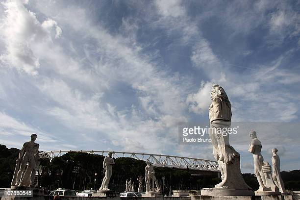 ROME FEBRUARY 22 A general view of the Foro Italico Stadium on February 22 2010 in Rome Italy