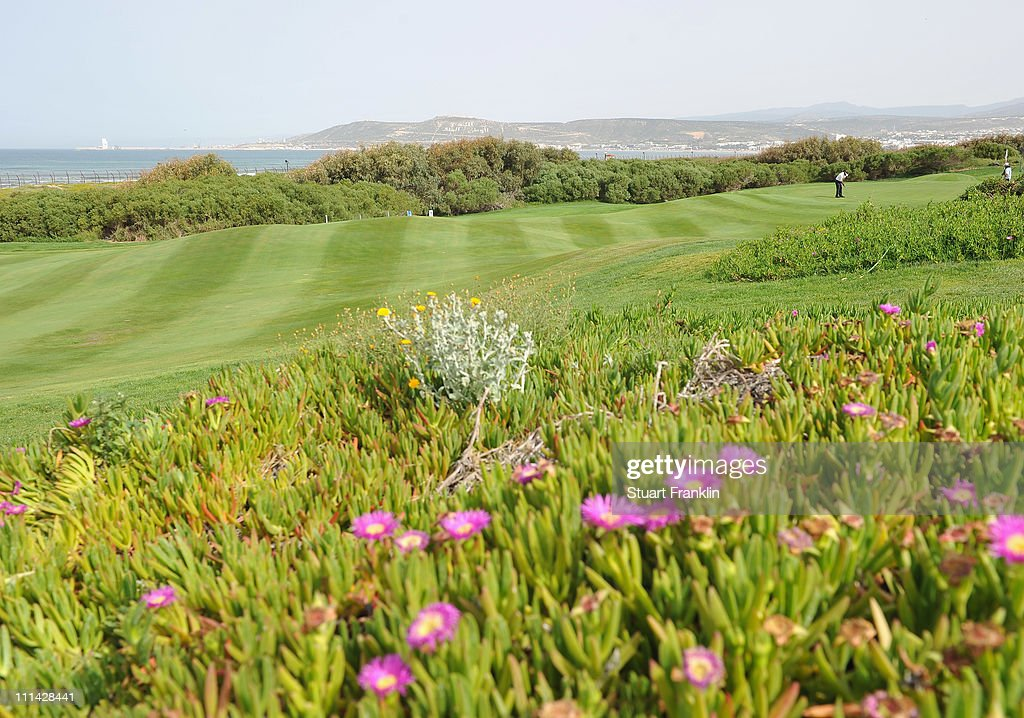 A general view of the fourth hole during the third round of the Trophee du Hassan II Golf at the Golf du Palais Royal on April 2 2011 in Agadir...